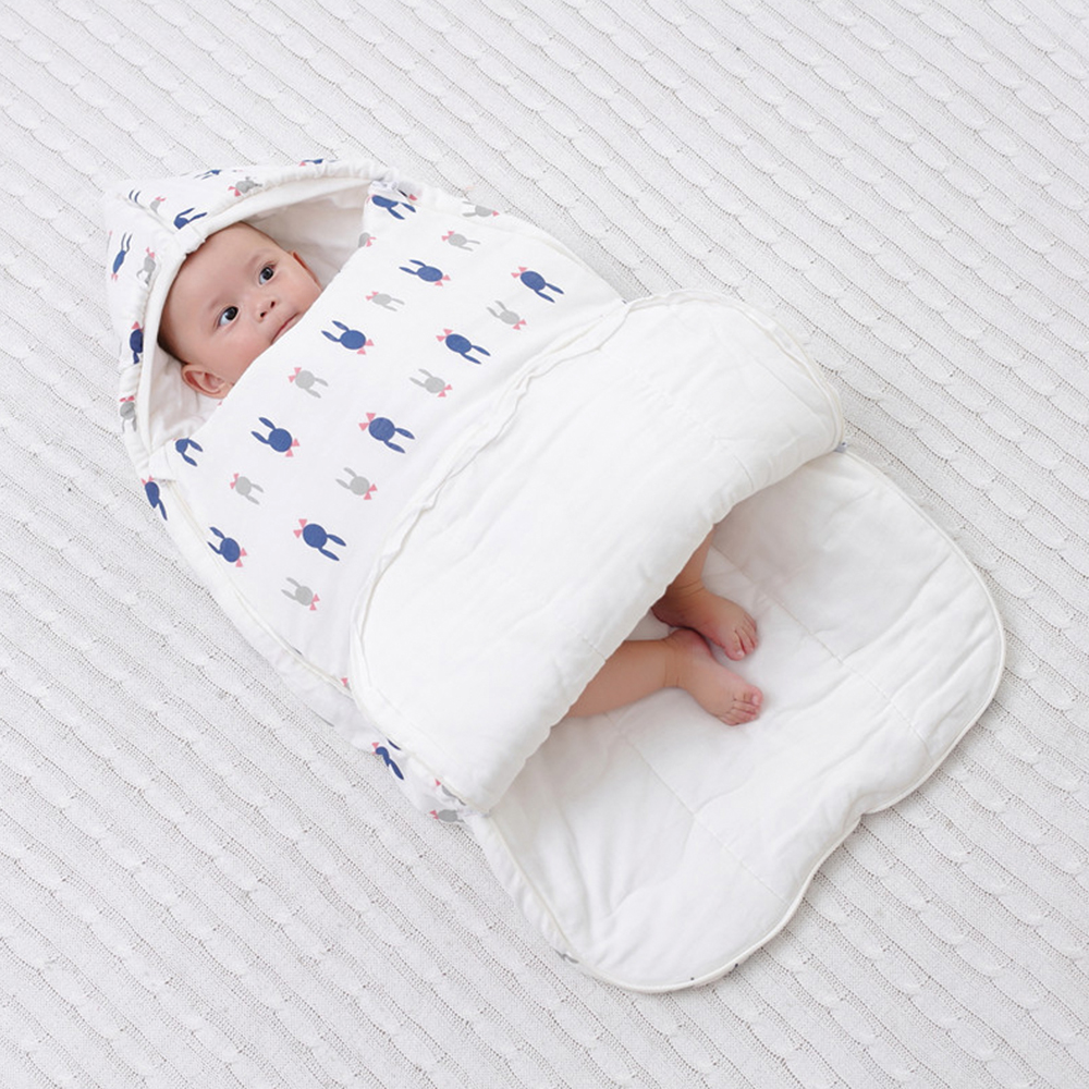 Baby Sleeping Bag Diaper Cocoon For Newborns Blanket Envelope Sleepsacks Cartoon Pattern New Baby Cocoon Envelopes For Newborns
