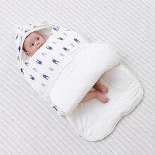 Baby Sleeping Bag Diaper Cocoon For Newborns Blanket Envelope Sleepsacks Cartoon Pattern New Baby Cocoon Envelopes For Newborns