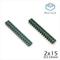 M5Stack Official Stock Offer 2x15 Pin Headers Socket 2 54mm Male Female 4 Pair Connector For