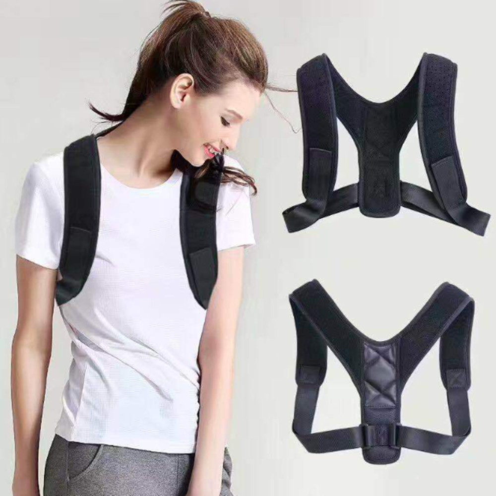 New Spine Posture Corrector Protection Back Shoulder Correction Band Humpback Pain Relief Brace
