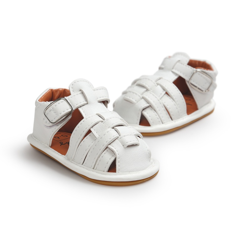 Baby Boys Girls Shoes Summer Non-slip PU Leather Shoes Infant First Walkers 0-18M New