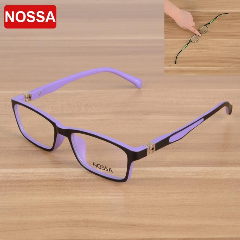 NOSSA Vysoce kvalitní TR90 Dětský optický rám Brýle Brýle Dívky Chlapci Děti Myopia Brýle Rámy Dětské Brýle