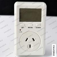 plug in single phase digital display Current meter,power factor meter AU plug D02B