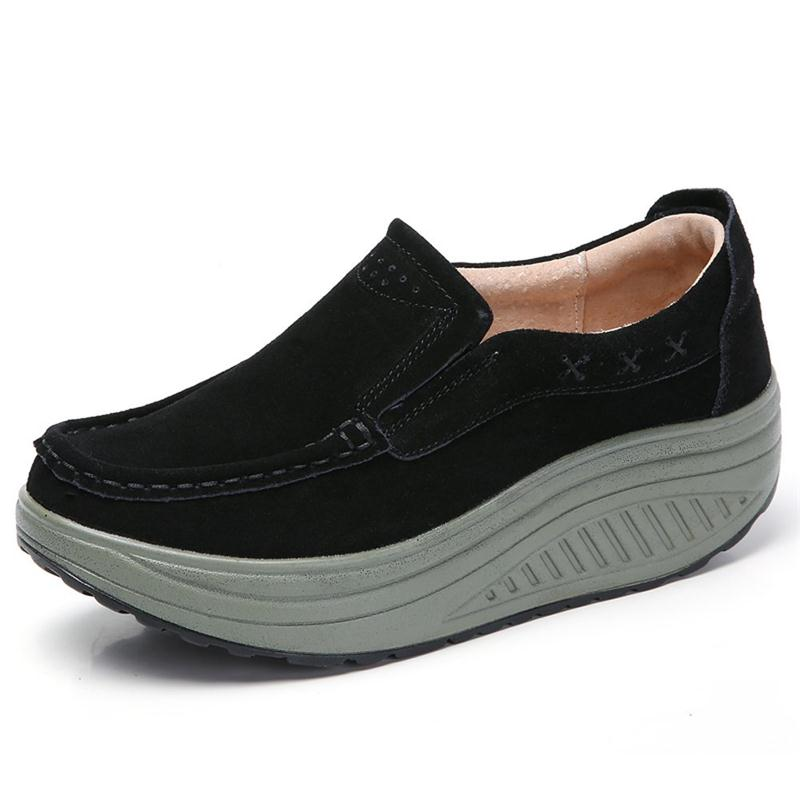 Women Flats Shoes Platform Wedge Loafers Sneakers Shoes Female Comfortable Suede Casual  Moccasins Sneakers Walking Shoes Women Flats Shoes Platform Wedge Loafers Sneakers Shoes Female Comfortable Suede Casual  Moccasins Sneakers Walking Shoes