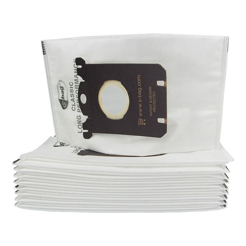 10 Pieces Vacuum Cleaner Bags Dust Bag For Electrolux Vacuum Cleaner Filter And S-BAG Best Price