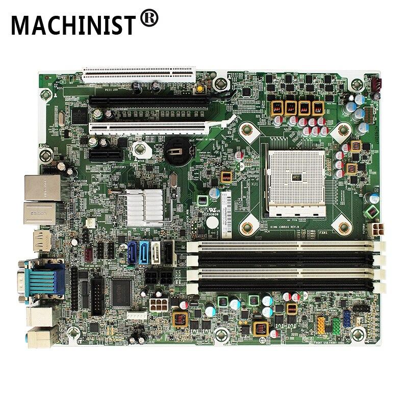 676196-002 Original For HP PRO 6305 SFF A75 desktop motherboard FM2 DDR3 703596-001 703596-501 703596-601 100% fully Tested