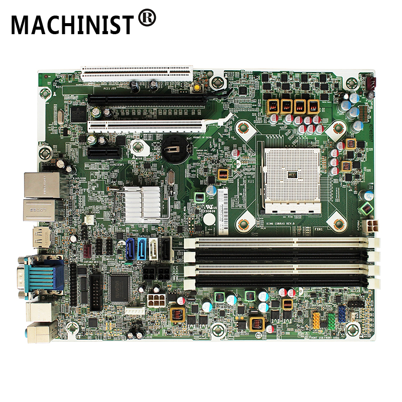 Desktop Motherboard A75 HP FM2 DDR3 703596-001 for PRO 6305/Sff/A75 Fm2/Ddr3/703596-001/.. title=