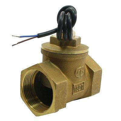 SEN-HS40 15/8PT Женский Латунь Резьба поршень поток воды переключатель расходомер 80L/мин