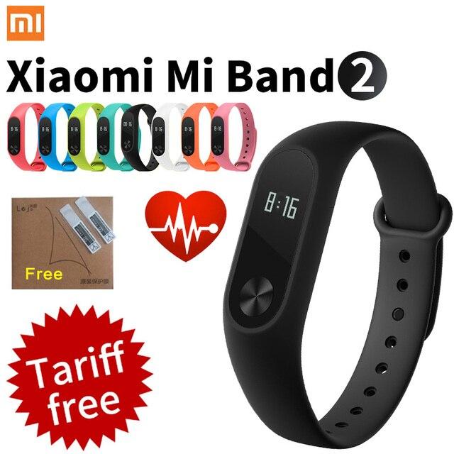 Оригинал Xiaomi Mi Группа 2 Браслет с Smart Heart Rate Monitor Сенсорная Панель OLED Экран band2 xaomi(Заказайте этот товар,который отправить из Росии отдельно пожалуйста,в противом случае будет проблема с заказом !!!)