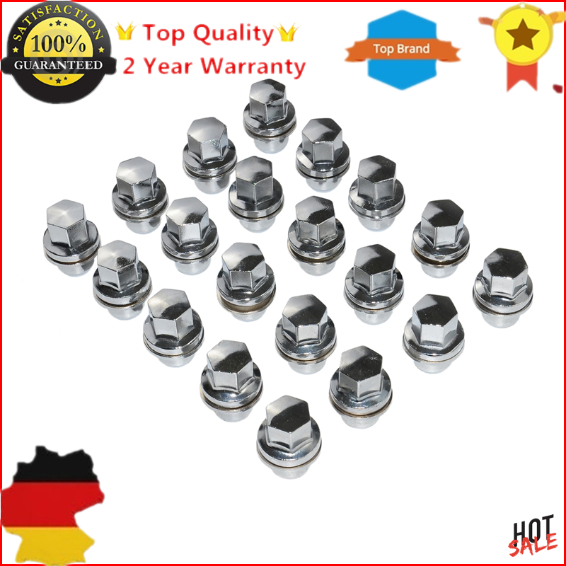 For Land Rover Discovery 3, 4 5, Range Rover & Sport & L322 & L405 Alloy Wheel Nut x20 - LR068126 2 licence number plate led light no error 2012 rover range rover l405 rover range rover l405 sport l494 ca292