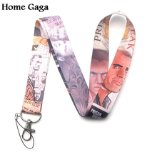 Homegaga Prison Break tv show cool keychain lanyard webbing ribbon neck strap fabric badge phone holder necklace accessory D1689