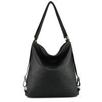 ZHIERNA Nuove donne di Modo DELL'UNITÀ di elaborazione borsa tracolla in pelle femminile grande borsa delle donne di colore nero nuovo arrivo totes borse