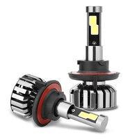 Super Bright Car Headlights N7 H13 1 Set 80W Set 40W Each Bulb CREE Chip LED