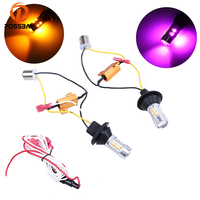 POSSBAY 1156 20SMD LED Lamp Pink Red Ice Blue Blue White Turn Yellow Lamp Turn Signal