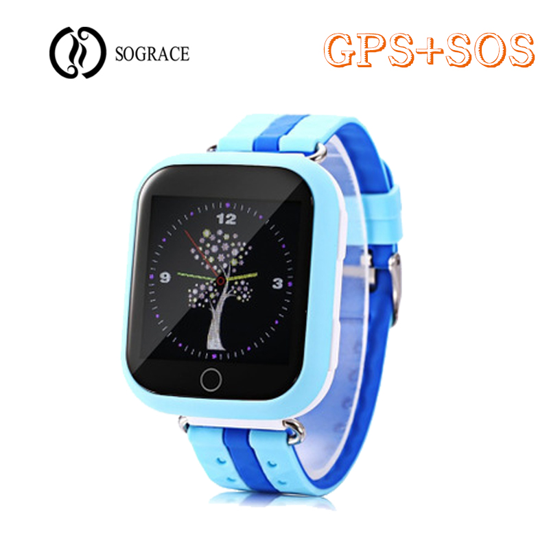 2018 Q100 GPS Smart Watch Baby Smart Watch SOS Call Location With 1.54inch Touch Screen Device Tracker for Kid Safe PK Q50 Q90