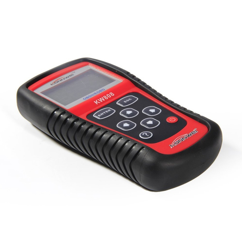 Professional KW808 EOBD OBD2 OBD Scanner Car Computer Vehicle Diagnostics Tool Same with MS509 Auto Code Reader quicklynks t80 jobd obd2 eobd color display auto scanner t80 for japan cars wider vehicle coverage with can protocol support