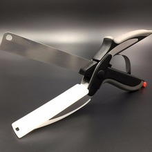 2 in 1 Kitchen Knife & Scissors