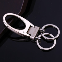 Double Loops Waist Hanging Keychain Key Ring Carabiner Key Chain Key Holder High Quality Sleutelhanger Chaveiro