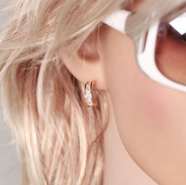 MxGxFam без свинца и никеля розовое золото Рекомендуемые серьги