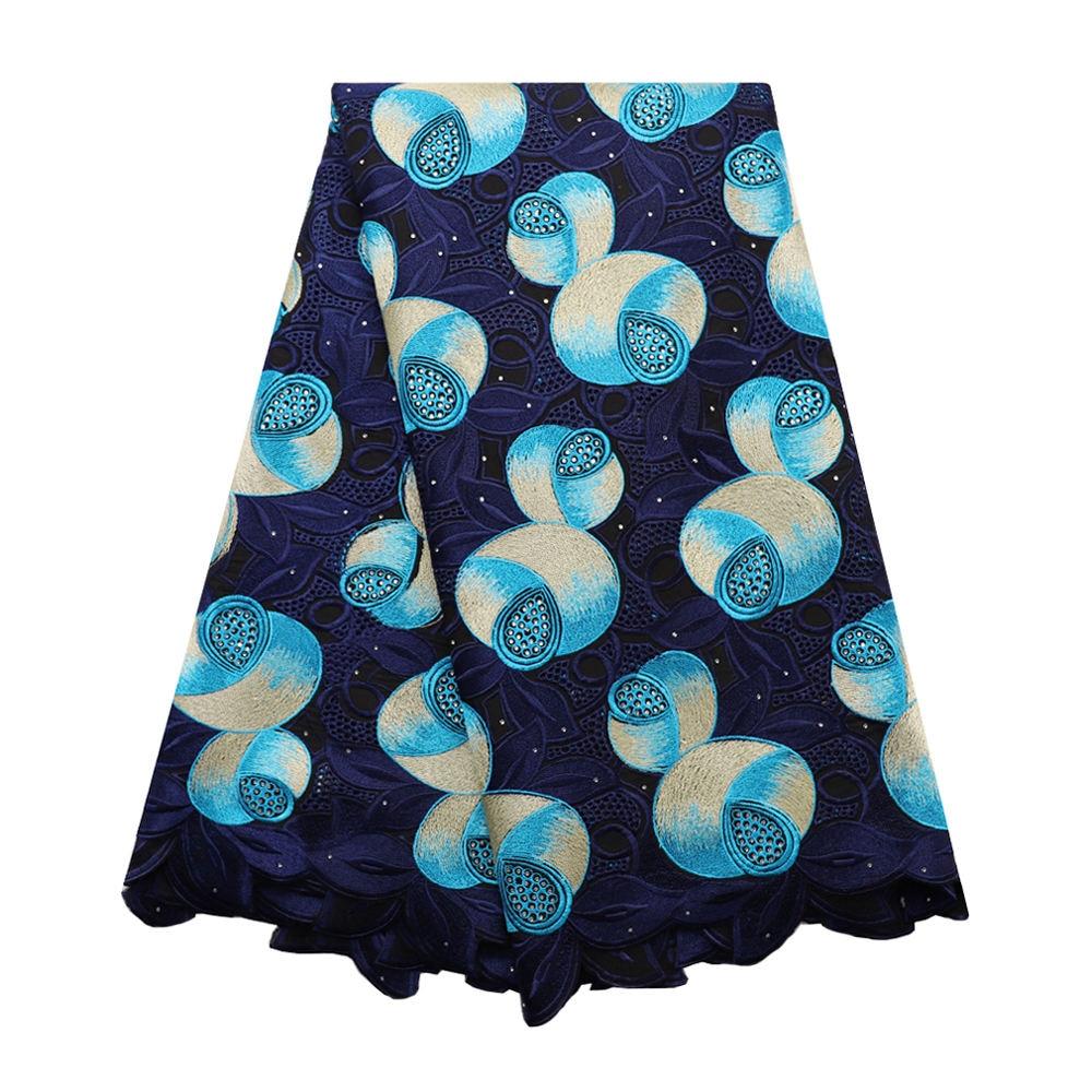 (High) 저 (quality 나이지리아 Swiss voile 순 레이스 나 아프리카 튈 mesh 레이스 fabric 030 Navy 100% 면 레이스 대 한 자 웨딩 dress-에서레이스부터 홈 & 가든 의  그룹 1