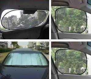 Car sun-shading stoopable sun block sunscreen 6 piece set car set car seat cushion car cover Window Foils & Solar Protection