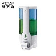 X-2210 Wall Mount ABS Plastic Hand Clean Sanitizer Dispenser Wash Hair Body Liquid Gel Shower Hotel Bottle Box Push Toilet Bathr gojo 962112 bag in box hand sanitizer dispenser 800ml 5 5 8w x 5 1 8d x 11h we