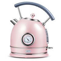North American electrical electric kettle household kettle heat preservation 304stainless steel anti dry burning retro small Electric Kettles     -