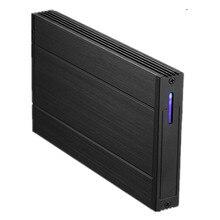 2.5″inch USB2.0 HDD Enclosure Dual HDD Case Hard Drive Disk Interface SATA External Storage HDD Enclosure Aluminium Box