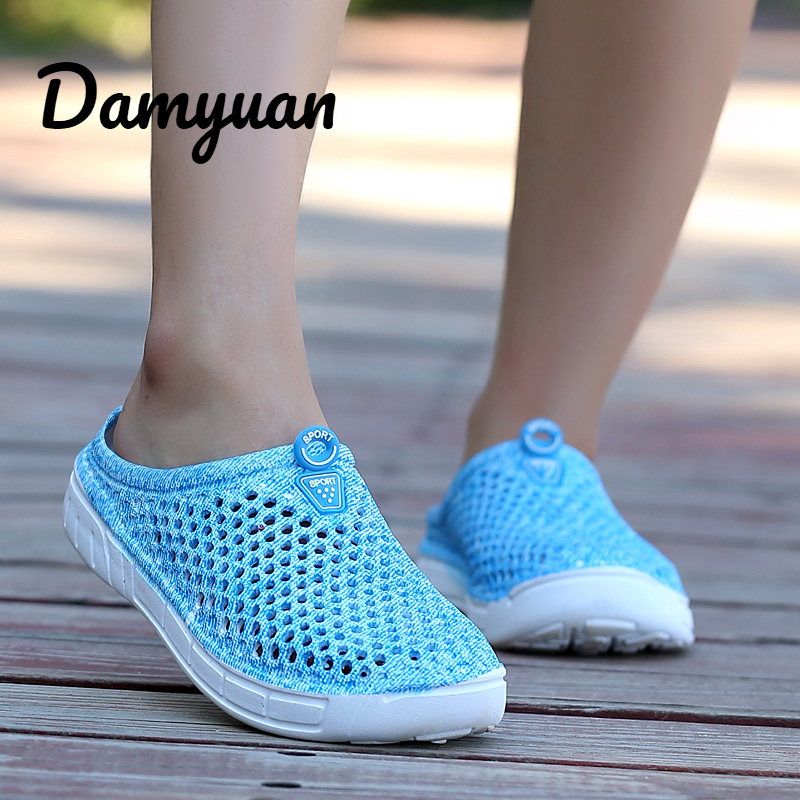 Damyuan 2019 Summer Fashion Women Beach Slipper Waterproof Mesh Breathable for Women Sandal Non-slide Casual Flip Flops ShoesDamyuan 2019 Summer Fashion Women Beach Slipper Waterproof Mesh Breathable for Women Sandal Non-slide Casual Flip Flops Shoes
