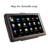 7 Car Android Capacitive Touch Screen GPS Navigation Australia Map Bluetooth Vedio WIFI AV IN