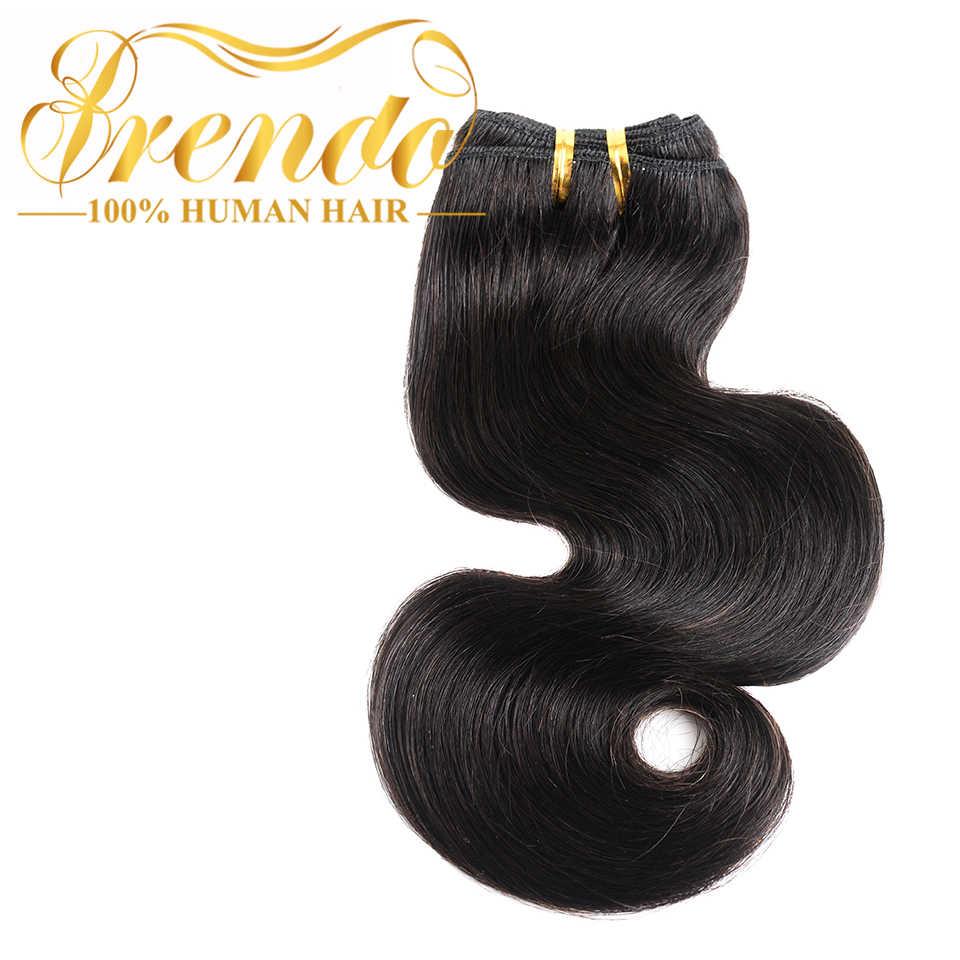 Бразильские пучки волос 50 г человеческие волосы переплетения пучки объемные волнистые волосы для наращивания Brenda remy волосы ткет образец Бесплатная доставка