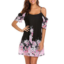 Srogem summer 2018 beach dress Womens Sexy Chiffon Midi Dress Bandage  Dresses 467c1352da28