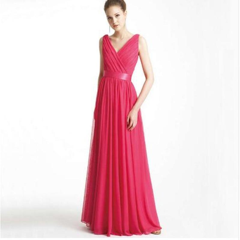 Online get cheap fuschia bridesmaid dress aliexpresscom for Fuschia wedding dresses