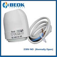Pour collecteur dans le système de chauffage par le sol 230 V actionneur électrique thermique de Type normalement ouvert