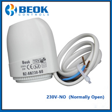 for Manifold in Underflooring Heating System 230V Normally Open Type Thermal Electric Actuator