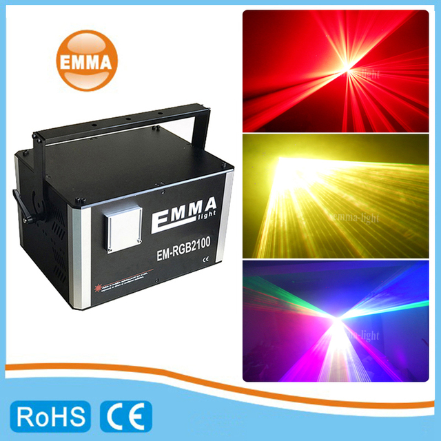 פרו 10 ואט/10000 mw Rgb dj דיסקו מועדון אנימציה 3d לייזר תאורה DMX512 ILDA עם תוכנת ishow sd כרטיס