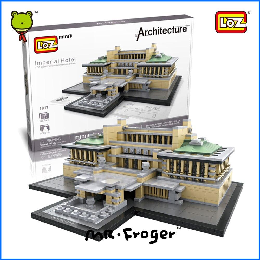 Mr.Froger LOZ Mini Block Imperial Hotel Popular Building Blos