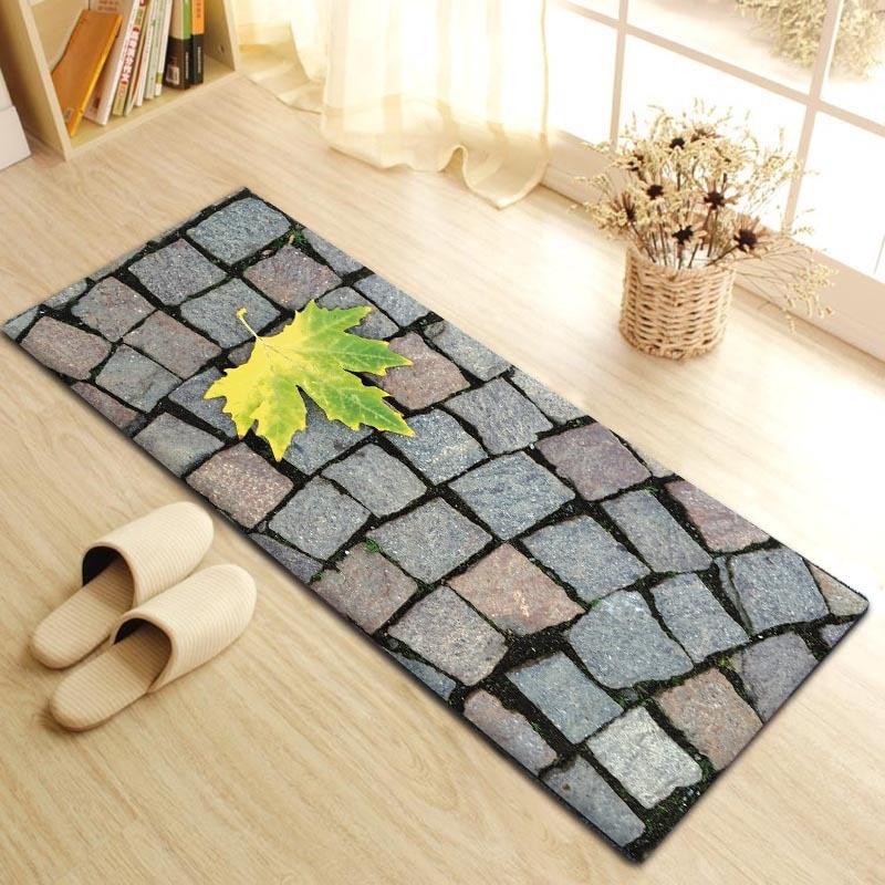 Zeegle Kitchen Floor Mats Outdoor Mat for Entrance Door Carpet Non slip Bedroom Bedside Rugs Soft