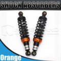"Universal 11 ""280mm motorcycle air shock absorber suspensão traseira para yamaha motor scooter atv quad preto d25"
