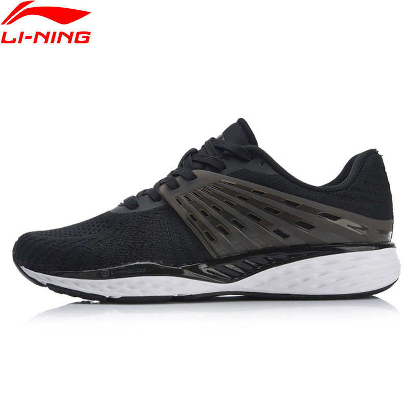 Li Ning Women LN CLOUD Cushion Running Shoes Breathable Bounce TPU Support LiNing Fitness Sports Shoes