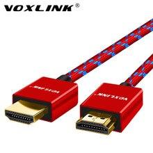 Voxlink Cáp HDMI 3FT/6FT/10FT Tốc Độ Cực Cao Đực HDMI Với Ethernet 1080P cáp HDMI 1.4 4K 3D Cho PS3 Bluray Xbox