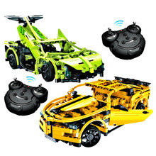 NEW Technic RC Car Electric Power Function Remote Control Veneno Car Building Blocks Bricks Toy Supercars Model For Kids Gifts(China)