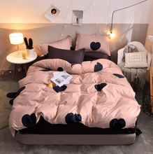 Bedding Set Blue Euro Bedspread Luxury Duvet Cover Double Bed Sheets Linens Queen King Adult Bedclothes30 [available with 10 11] linens euro 2565821
