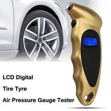 0-150 PSI LCD Digital Tire Tyre Air Pressure Gauge Tester Tool Digital