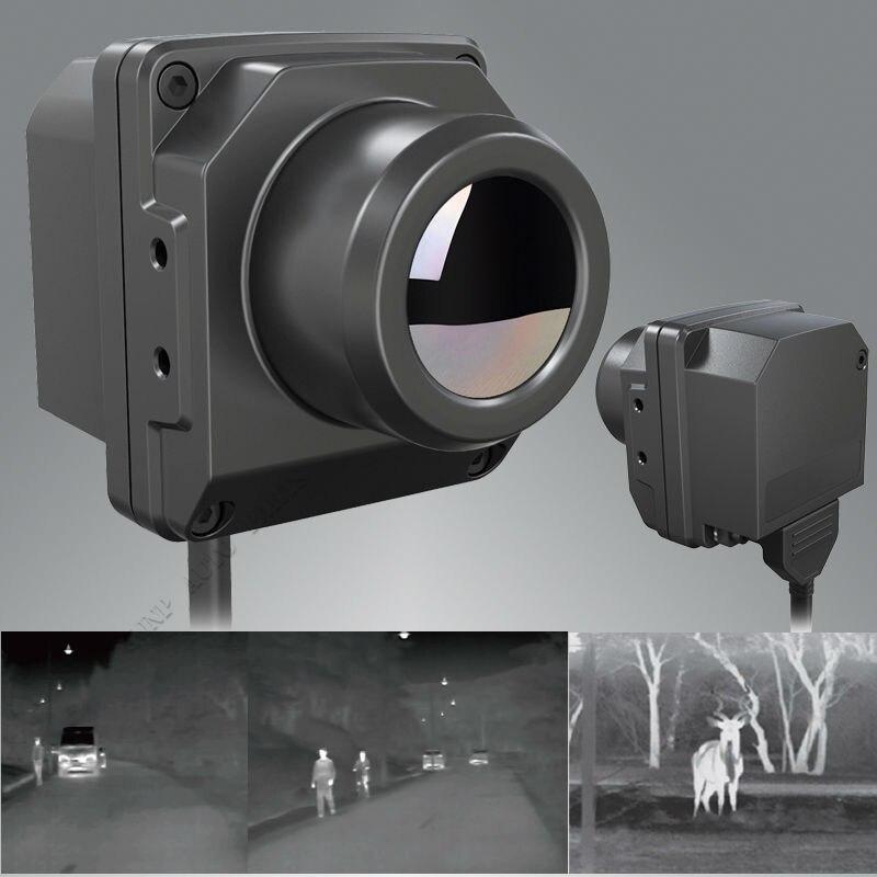 IP67 Câmara Termográfica Infravermelha Carro off road Veículo Night Vision Driving Caça Olheiro Pesquisa Infrared Thermal Imaging Camera