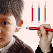 Light LED Dig Flash Light Ear pick Wax Remover Earpick Clean Ears dig Cleaner Tool Curette ear cleaning device For children L4