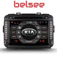 Belsee 8 дюймов Сенсорный экран Радио Android 8,0 Штатная Восьмиядерный PX5 gps dvd плеер автомобиля Нави Kia Carens 2013 2014 2015 2016 2017
