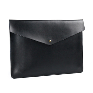 Image 3 - A4 Document Holder Nature Leather File Folder for Documents Bag Case With Buckle Paper Storage Office School Filing Supplies
