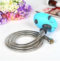 Pet Dog Bath Washing Tool Puppy Shower Head Microfiber Pipe Length 120CM Steel Material High Quality