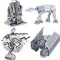 Star Wars Juguetes educativos Puzzle toys 2015 New Russia metal earth 3D Nano metal DIY  Puzzle brain brinquedos para as crian